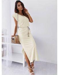 Φόρεμα - κώδ. 6622 - λευκό