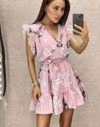 Φόρεμα - κώδ. 8125 - ροζ