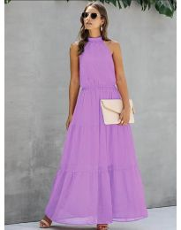 Φόρεμα - κώδ. 8855 - μωβ