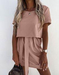 Φόρεμα - κώδ. 6737 - πούδρα
