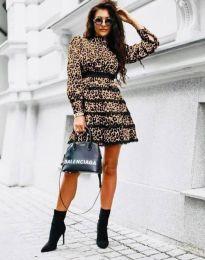 Φόρεμα - κώδ. 35911 - 1 - λεοπάρδαλης