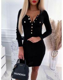 Φόρεμα - κώδ. 2064 - 1 - μαύρο