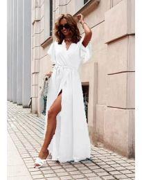 Φόρεμα - κώδ. 666 - λευκό