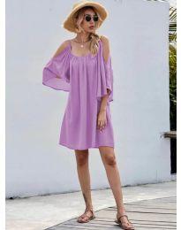 Φόρεμα - κώδ. 3022 - μωβ