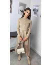 Φόρεμα - κώδ. 185 - μπεζ