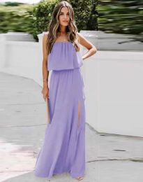 Φόρεμα - κώδ. 8871 - μωβ