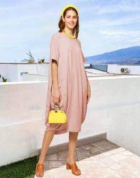 Φόρεμα - κώδ. 5554 - πούδρα