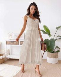 Φόρεμα - κώδ. 4672 - μπεζ