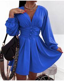 Φόρεμα - κώδ. 4343 - μπλε