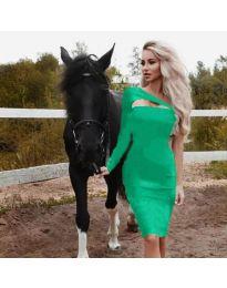 Φόρεμα - κώδ. 955 - πράσινο