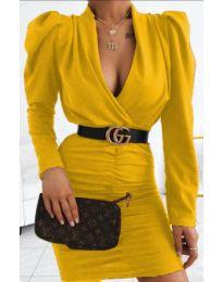 Φόρεμα - κώδ. 953 - μουσταρδί