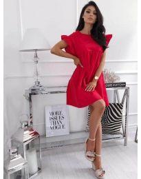 Φόρεμα - κώδ. 3145 - κόκκινο
