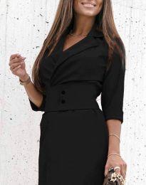 Φόρεμα - κώδ. 1356 - μαύρο