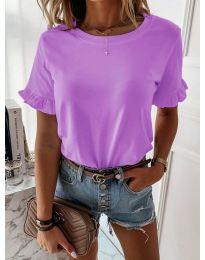 Κοντομάνικο μπλουζάκι - κώδ. 068 - μωβ