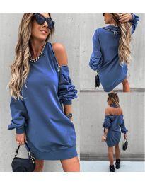 Φόρεμα - κώδ. 296 - μπλε