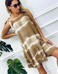 Φόρεμα - κώδ. 6426 - 2 - μπεζ