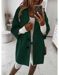 Παλτό - κώδ. 413 - σκούρο πράσινο