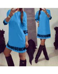 Φόρεμα - κώδ. 345 - γαλάζιο
