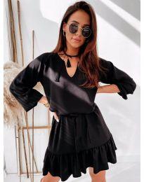 Φόρεμα - κώδ. 4146 - μαύρο