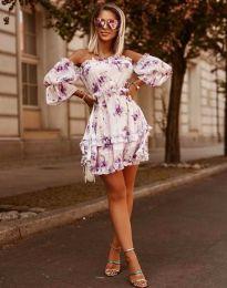 Φόρεμα - κώδ. 1402 - 1 - λευκό