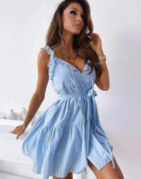 Φόρεμα - κώδ. 0710 - 2 - γαλάζιο