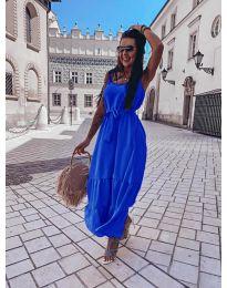 Φόρεμα - κώδ. 1230 - σκούρο μπλε