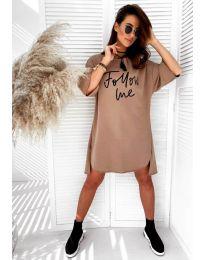 Φόρεμα - κώδ. 0522 - Καφέ