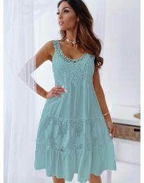 Φόρεμα - κώδ. 3232 - τυρκουάζ