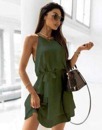 Φόρεμα - κώδ. 9968 - λαδί