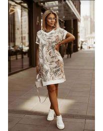 Φόρεμα - κώδ. 3492 - πολύχρωμο
