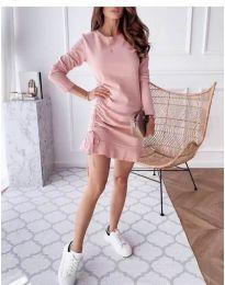 Φόρεμα - κώδ. 832 - ροζ
