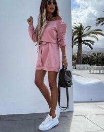 Φόρεμα - κώδ. 2409 - πούδρα