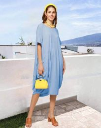 Φόρεμα - κώδ. 5554 - γαλάζιο