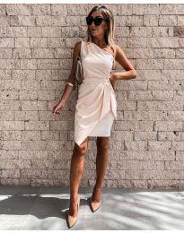 Φόρεμα - κώδ. 2457 - μπεζ