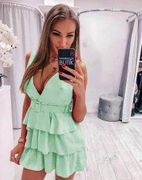 Φόρεμα - κώδ. 6939 - ανοιχτό πράσινο