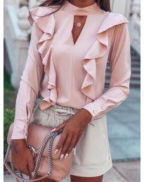 Μπλούζα - κώδ. 7715 - ροζ