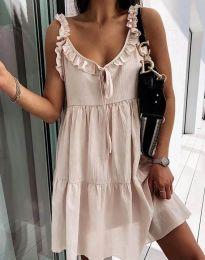 Φόρεμα - κώδ. 2540 - μπεζ