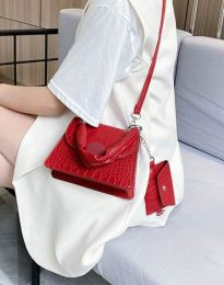 Τσάντα - κώδ. B427 - κόκκινο