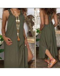 Φόρεμα - κώδ. 9597 - χακί