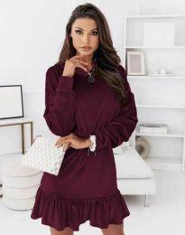 Φόρεμα - κώδ. 0424 - μπορντό