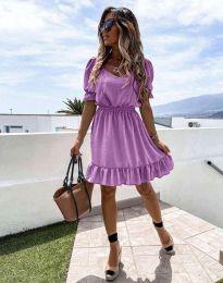 Φόρεμα - κώδ. 6460 - μωβ