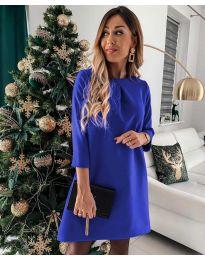 Φόρεμα - κώδ. 1042 - μπλε