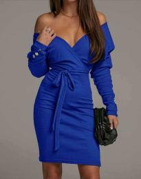 Φόρεμα - κώδ. 4765 - μπλε