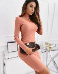 Φόρεμα - κώδ. 11441 - πούδρα