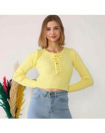 Μπλούζα - κώδ. 6365 - κίτρινο