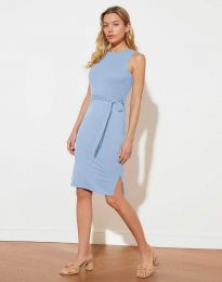 Φόρεμα - κώδ. 12950 - γαλάζιο