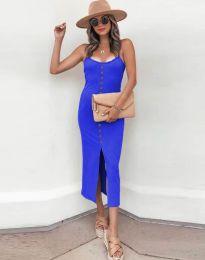 Φόρεμα - κώδ. 8841 - μπλε