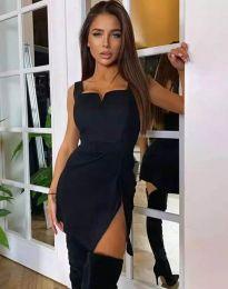 Φόρεμα - κώδ. 3300 - 1 - μαύρο