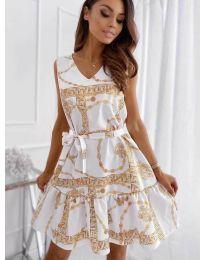 Φόρεμα - κώδ. 343 - λευκό