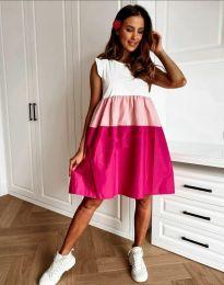 Φόρεμα - κώδ. 81777 - 2 - πολύχρωμο